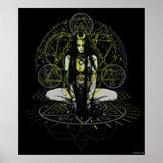 Suicide Squad   Enchantress Magic Circles Poster