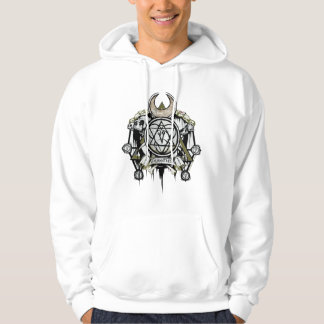 Suicide Squad | Enchantress Symbols Tattoo Art Hoodie
