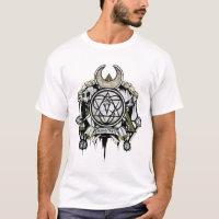 Suicide Squad   Enchantress Symbols Tattoo Art T-Shirt