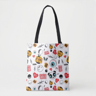 Suicide Squad | Friends Forever Pattern Tote Bag