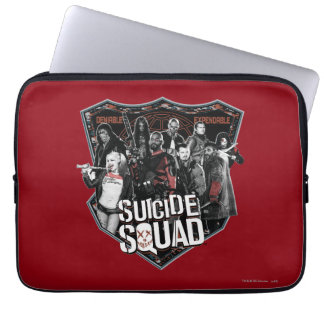 Suicide Squad | Group Badge Photo Computer Sleeves