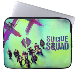 Suicide Squad | Group Poster Laptop Sleeve