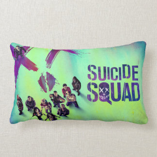 Suicide Squad | Group Poster Lumbar Pillow