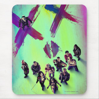 Suicide Squad | Group Poster Mouse Pad