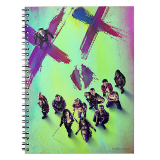 Suicide Squad | Group Poster Notebook