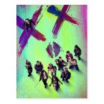Suicide Squad   Group Poster Postcard