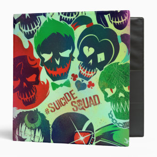 Suicide Squad | Group Toss 3 Ring Binder