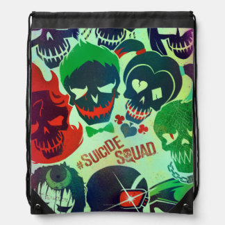 Suicide Squad | Group Toss Drawstring Bag