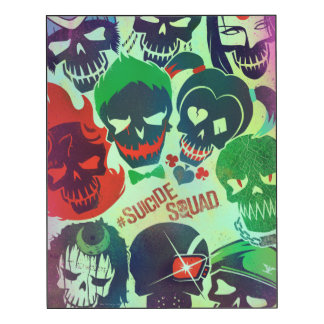 Suicide Squad | Group Toss Wood Wall Art