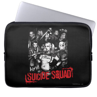 Suicide Squad | Grunge Group Photo Computer Sleeve