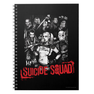 Suicide Squad | Grunge Group Photo Notebook