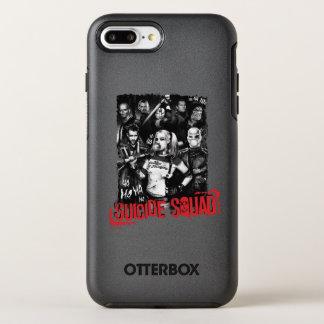 Suicide Squad | Grunge Group Photo OtterBox Symmetry iPhone 7 Plus Case