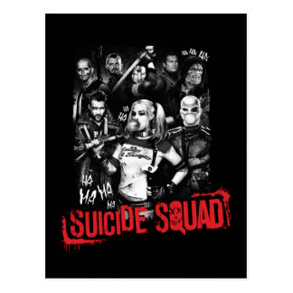 Suicide Squad | Grunge Group Photo Postcard