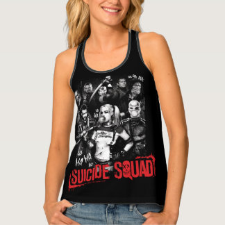 Suicide Squad | Grunge Group Photo Tank Top