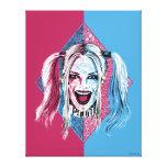 Suicide Squad   Harley Laugh Canvas Print