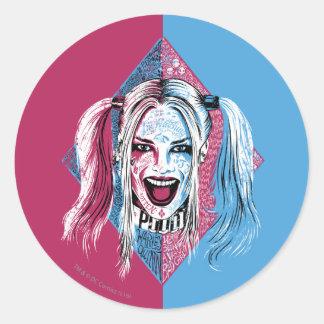 Suicide Squad | Harley Laugh Classic Round Sticker