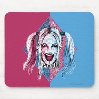 Suicide Squad   Harley Laugh Mouse Pad