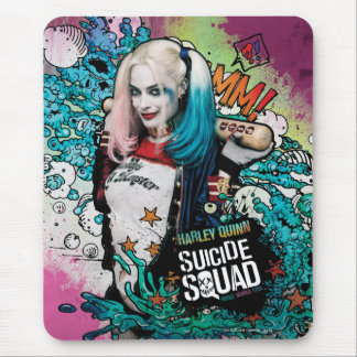 Suicide Squad | Harley Quinn Character Graffiti Mouse Pad