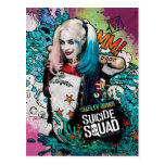 Suicide Squad | Harley Quinn Character Graffiti Postcard