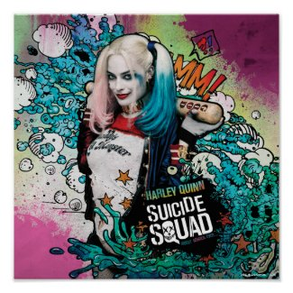 Suicide Squad | Harley Quinn Character Graffiti