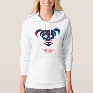 Suicide Squad   Harley Quinn Head Icon Hoodie