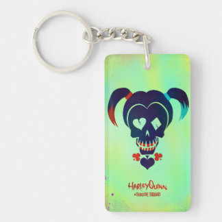 Suicide Squad | Harley Quinn Head Icon Keychain