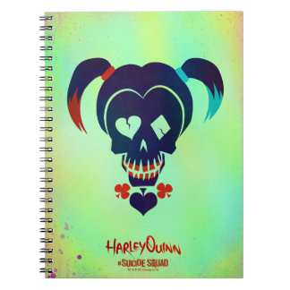 Suicide Squad | Harley Quinn Head Icon Notebook