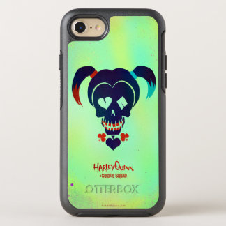 Suicide Squad | Harley Quinn Head Icon OtterBox Symmetry iPhone 7 Case