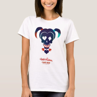 Suicide Squad   Harley Quinn Head Icon T-Shirt