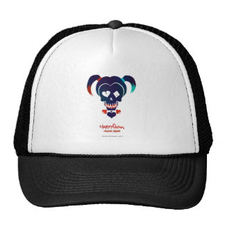 Suicide Squad   Harley Quinn Head Icon Trucker Hat