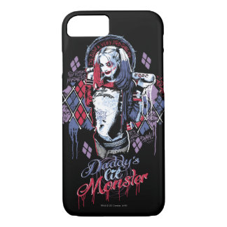 Suicide Squad | Harley Quinn Inked Graffiti iPhone 8/7 Case