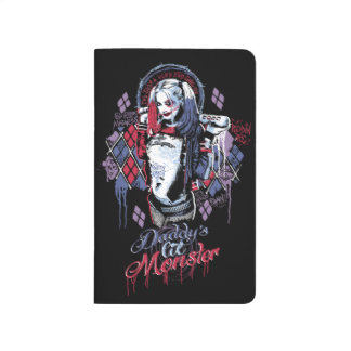 Suicide Squad | Harley Quinn Inked Graffiti Journal