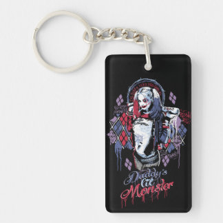 Suicide Squad | Harley Quinn Inked Graffiti Keychain