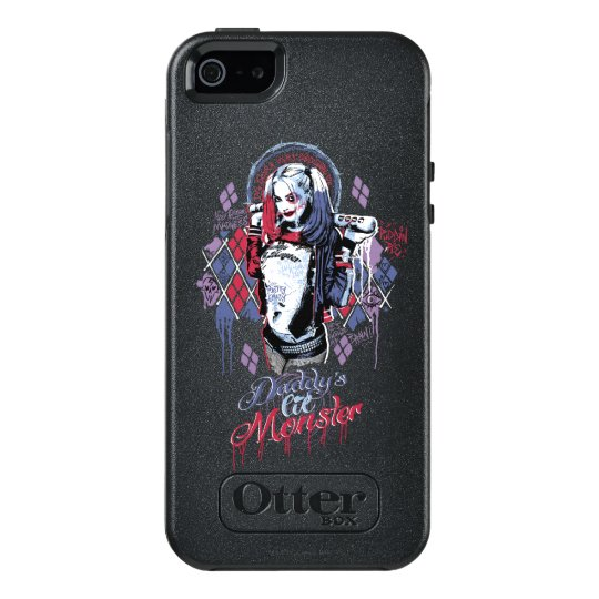 Suicide Squad : Harley Quinn Inked Graffiti OtterBox iPhone 5/5s/SE ...
