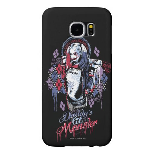 Suicide Squad : Harley Quinn Inked Graffiti Samsung Galaxy S6 Cases ...