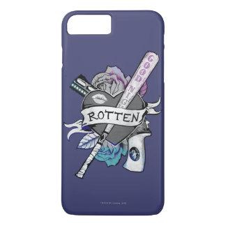 "Suicide Squad | Harley Quinn ""Rotten"" Tattoo Art iPhone 7 Plus Case"