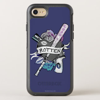 "Suicide Squad | Harley Quinn ""Rotten"" Tattoo Art OtterBox Symmetry iPhone 7 Case"