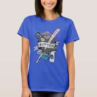 "Suicide Squad | Harley Quinn ""Rotten"" Tattoo Art T-Shirt"