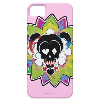 Suicide Squad   Harley Quinn Skull Tattoo Art iPhone SE/5/5s Case