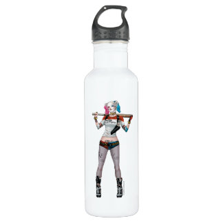 Suicide Squad | Harley Quinn Stainless Steel Water Bottle
