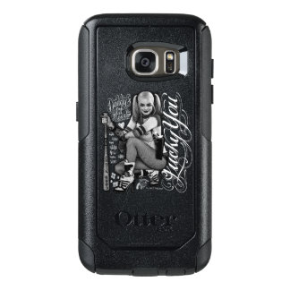 Suicide Squad   Harley Quinn Typography Photo OtterBox Samsung Galaxy S7 Case
