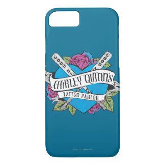 Suicide Squad | Harley Quinn's Tattoo Parlor Heart iPhone 7 Case