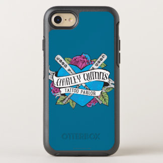 Suicide Squad | Harley Quinn's Tattoo Parlor Heart OtterBox Symmetry iPhone 7 Case