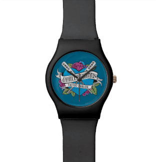 Suicide Squad | Harley Quinn's Tattoo Parlor Heart Wristwatch