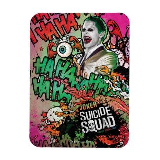 Suicide Squad | Joker Character Graffiti Magnet