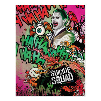 Suicide Squad | Joker Character Graffiti Postcard