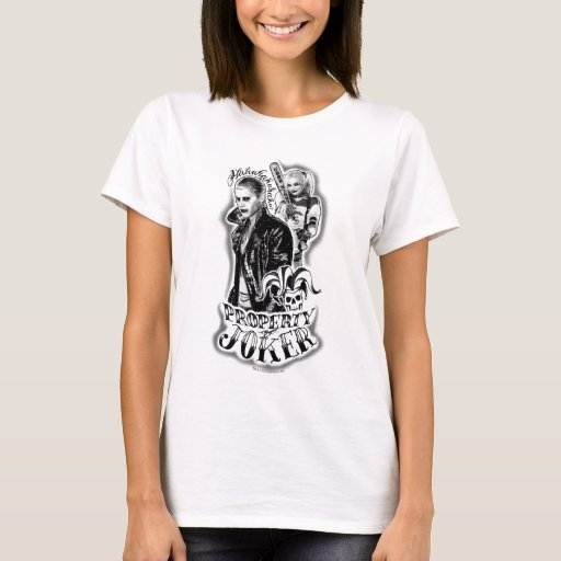 Suicide Squad | Joker & Harley Airbrush Tattoo T-Shirt