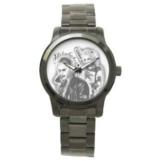 Suicide Squad | Joker & Harley Airbrush Tattoo Wrist Watch