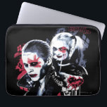"Suicide Squad | Joker &amp; Harley Painted Graffiti Computer Sleeve<br><div class=""desc"">Check out Joker and Harley Quinn in this stylized paint stroke and spray paint graffiti graphic.</div>"