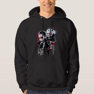 Suicide Squad | Joker & Harley Painted Graffiti Hoodie